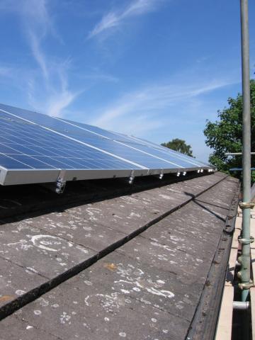 repairing solar panels in Devon