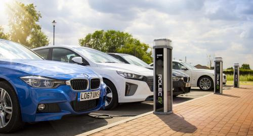 Installation of electriv vehicle charge points in Devon, Cornwall and Somerset